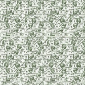 Gas Mask 100 Dollar Bills
