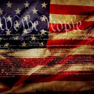 Constitution Flag 11x16