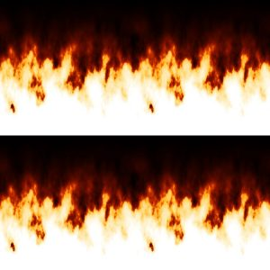 Unidirectional Flames