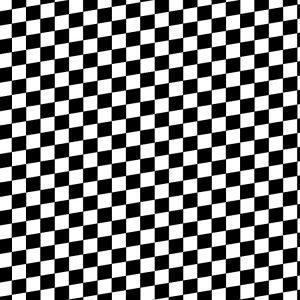 Angled Checkered Flag