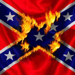 Rebel Flag Fire