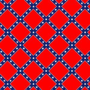 Confederate Flag Tartan