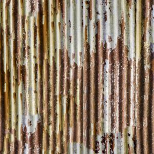 Rusty Corrugated Tin
