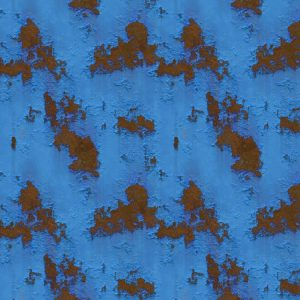 Rusted Blue Metal 24
