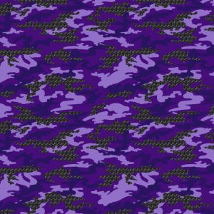 Purple Triaxal Carbon Fiber Camouflage