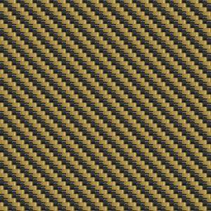 Carbon Fiber Gold and Black