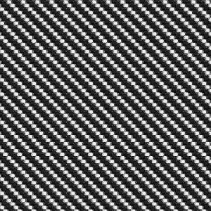 Black and White Basket Weave Carbon Fiber