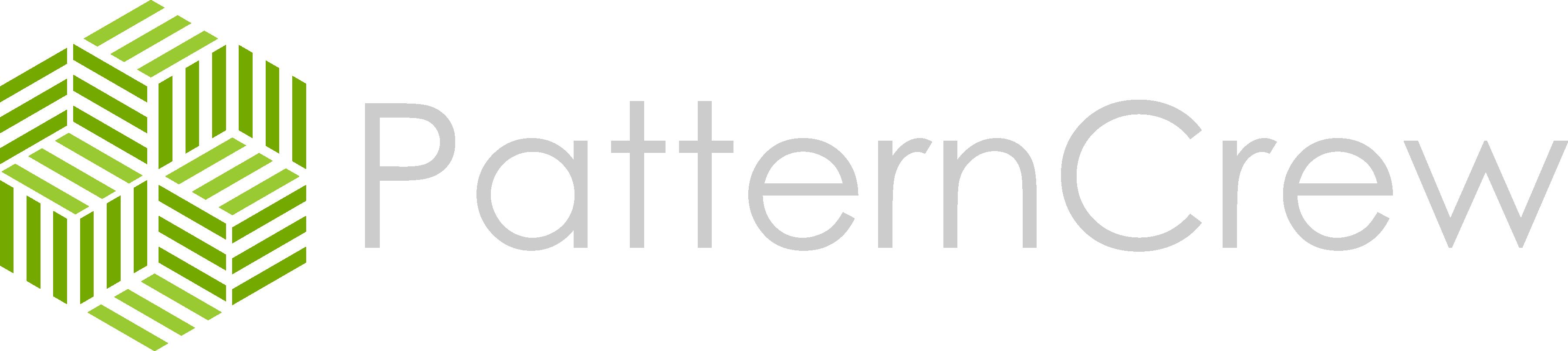 Pattern Crew Logo White 22