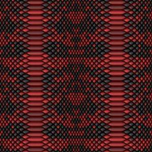 Red Snake Skin 22