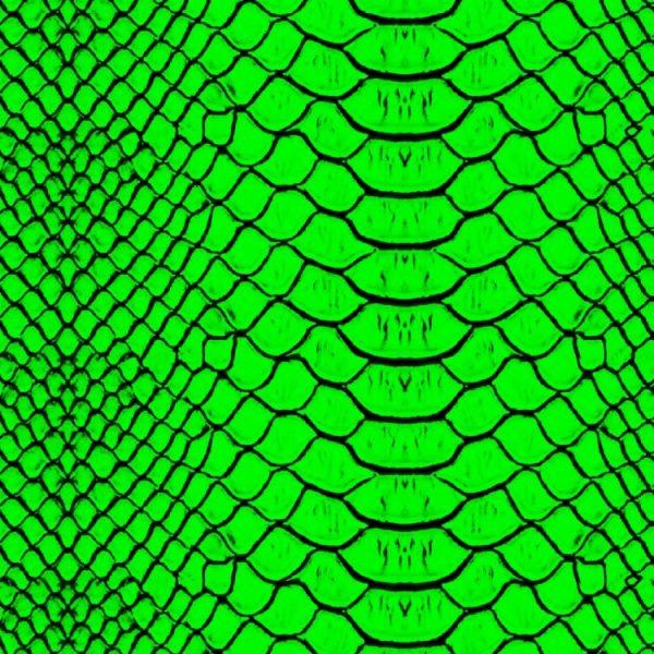 Lime Snake Skin