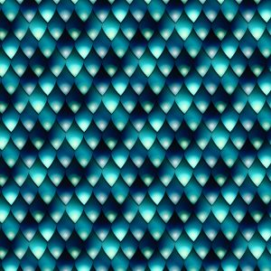 Blue Snake Skin 22