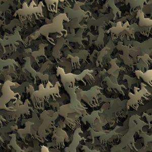 Horse 26 Camouflage