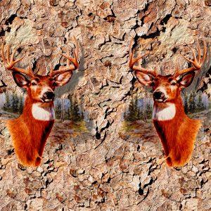 Deer Head 11x16