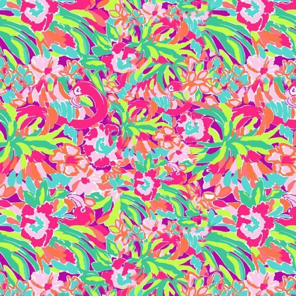 Lilly Flamingos