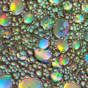 Oil Sheen Bubbles