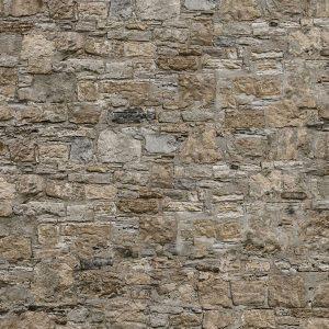 Stone Castle Walls