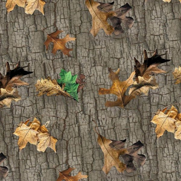 Very Old Real Tree Fabric Camouflage