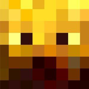 Minecraft Blaze Head