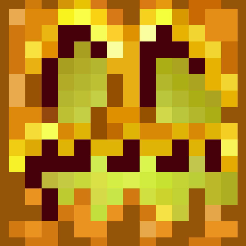 Minecraft Jack O Lantern Pattern Crew