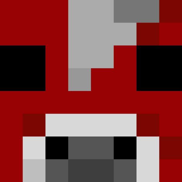 Minecraft Mooshroom Head