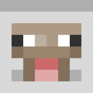 Minecraft Sheep Head