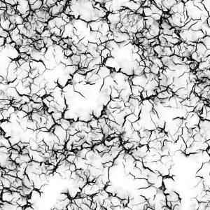 Transparent Cracked Overlay