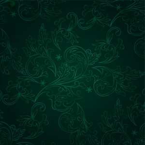 Green Floral Wall