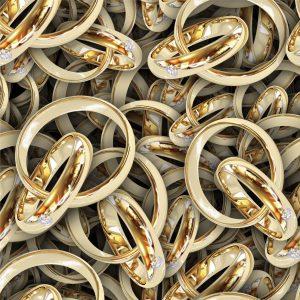 Gold Wedding Rings 23