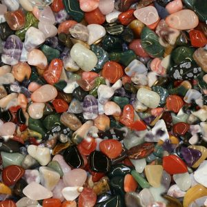 Tumbled Rocks 22