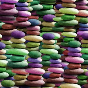 Stacked Color Stones 22