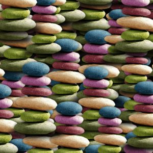 Stacked Color Stones 23
