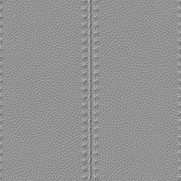 Double Stitched Leather Overlay