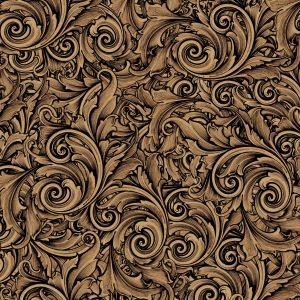 Sepia Scrollwork 22