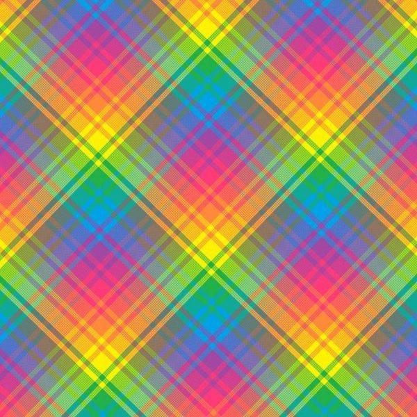 Rainbow Plaid 24