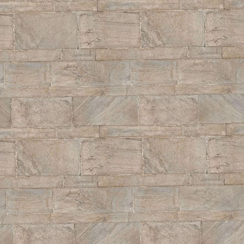 Cut Sand Stone Wall