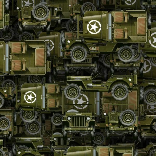 MIlitary Army Jeeps