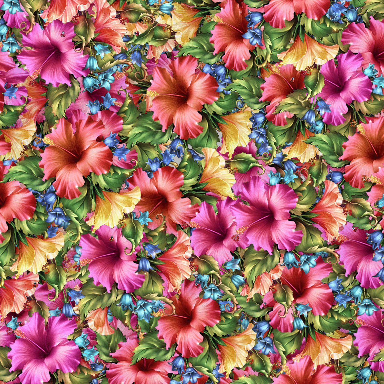 Watercolor Hibiscus 23