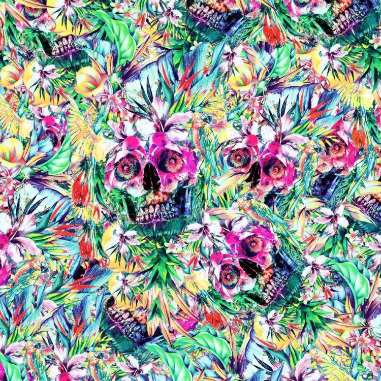 Floral Skulls 22