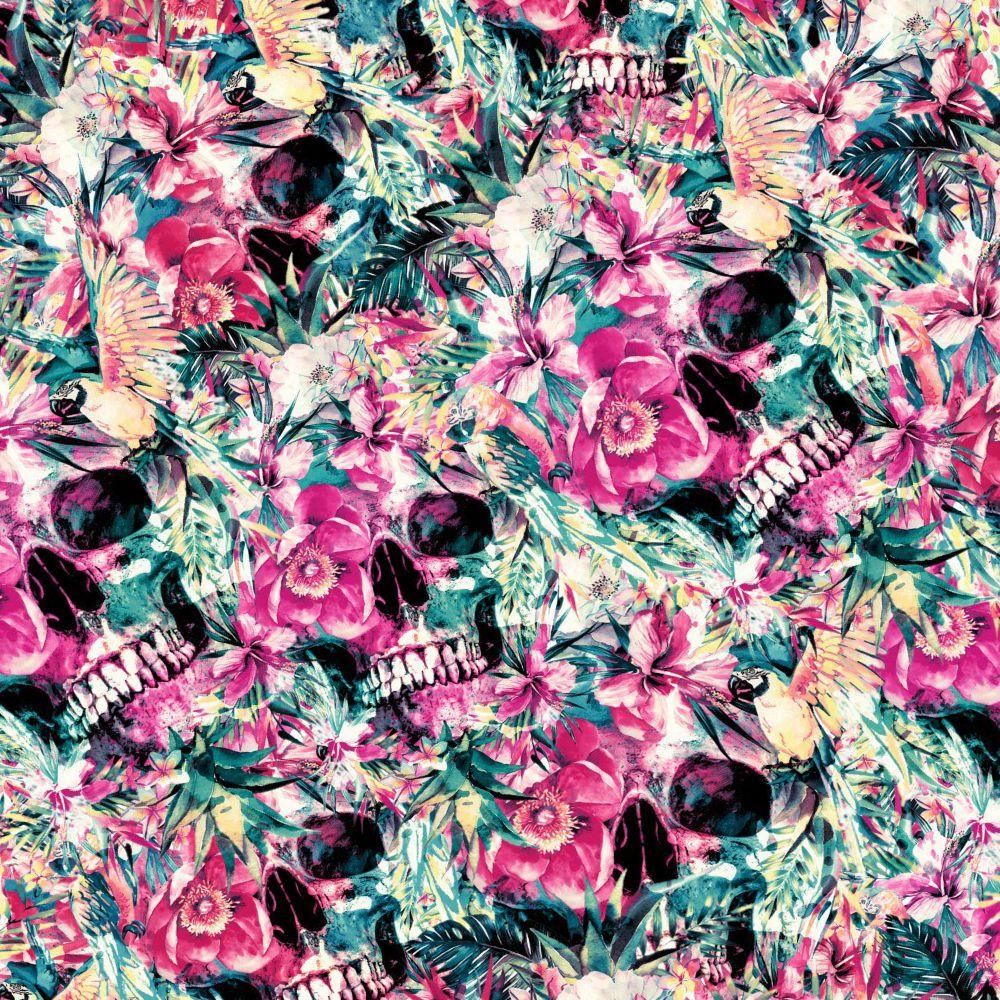 Floral Skulls 23