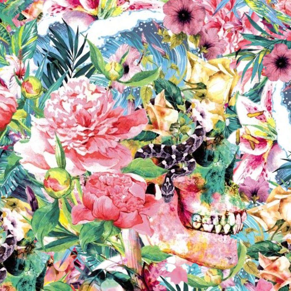 Floral Skulls 25