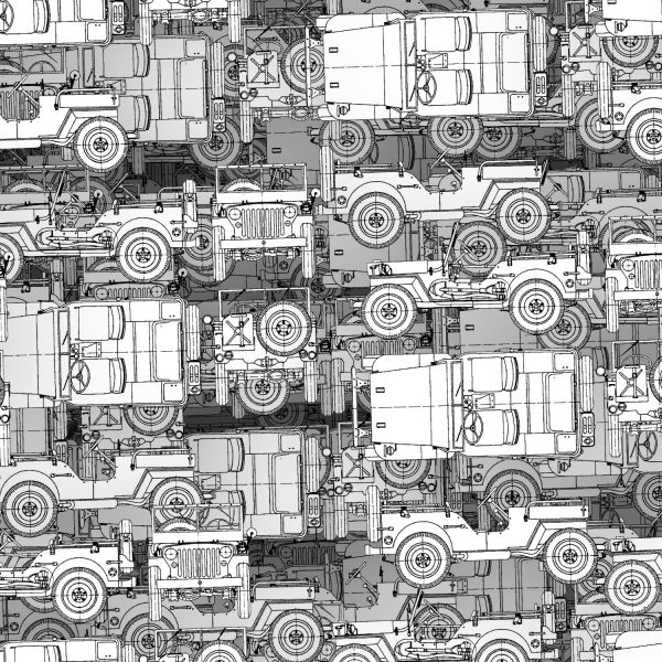 Jeep Willys Drawings 24