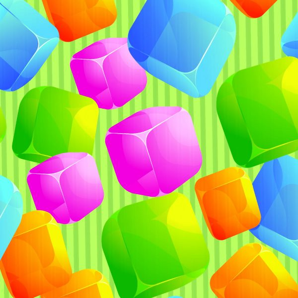 Square Balloons 24