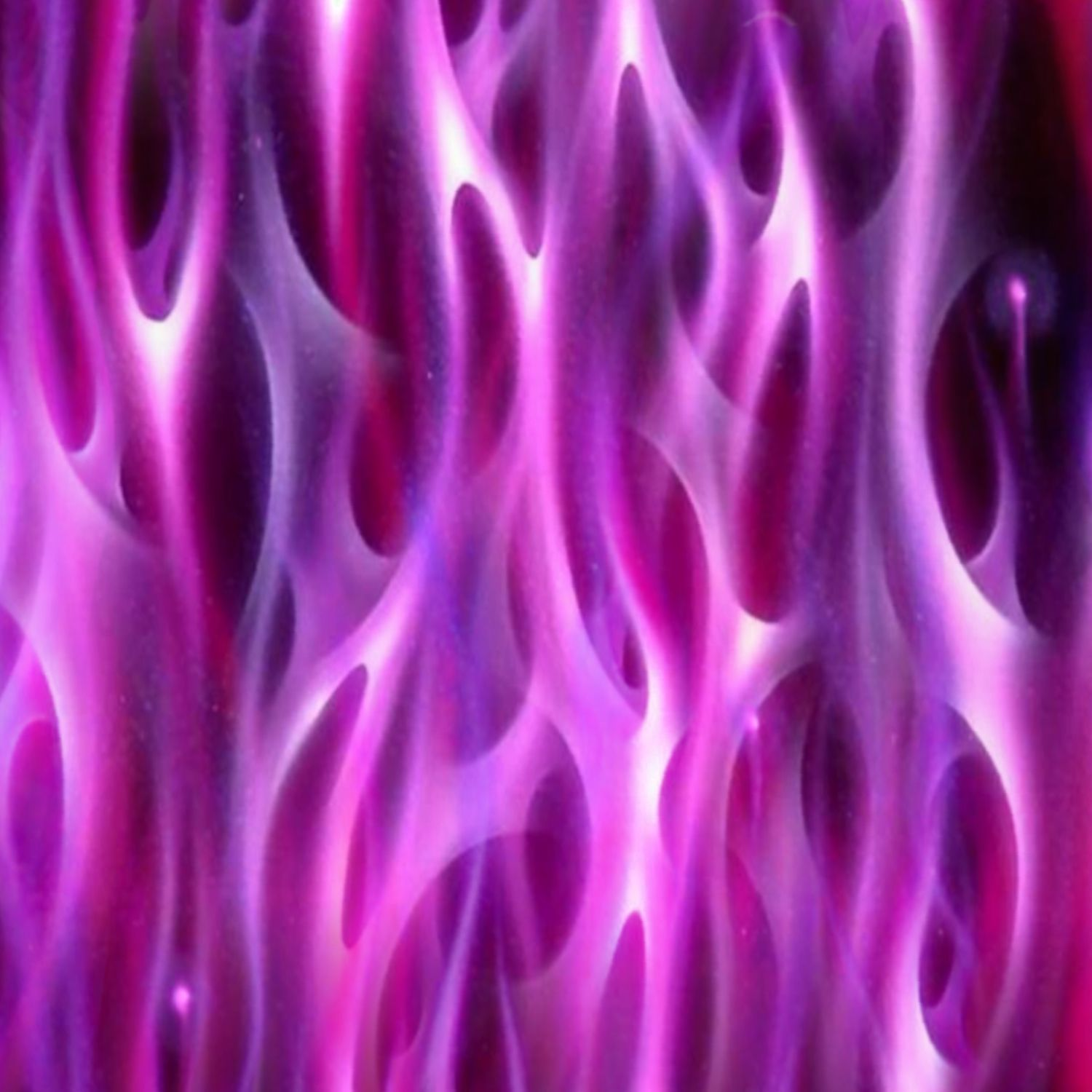 Violet Airbrushed Flames 25
