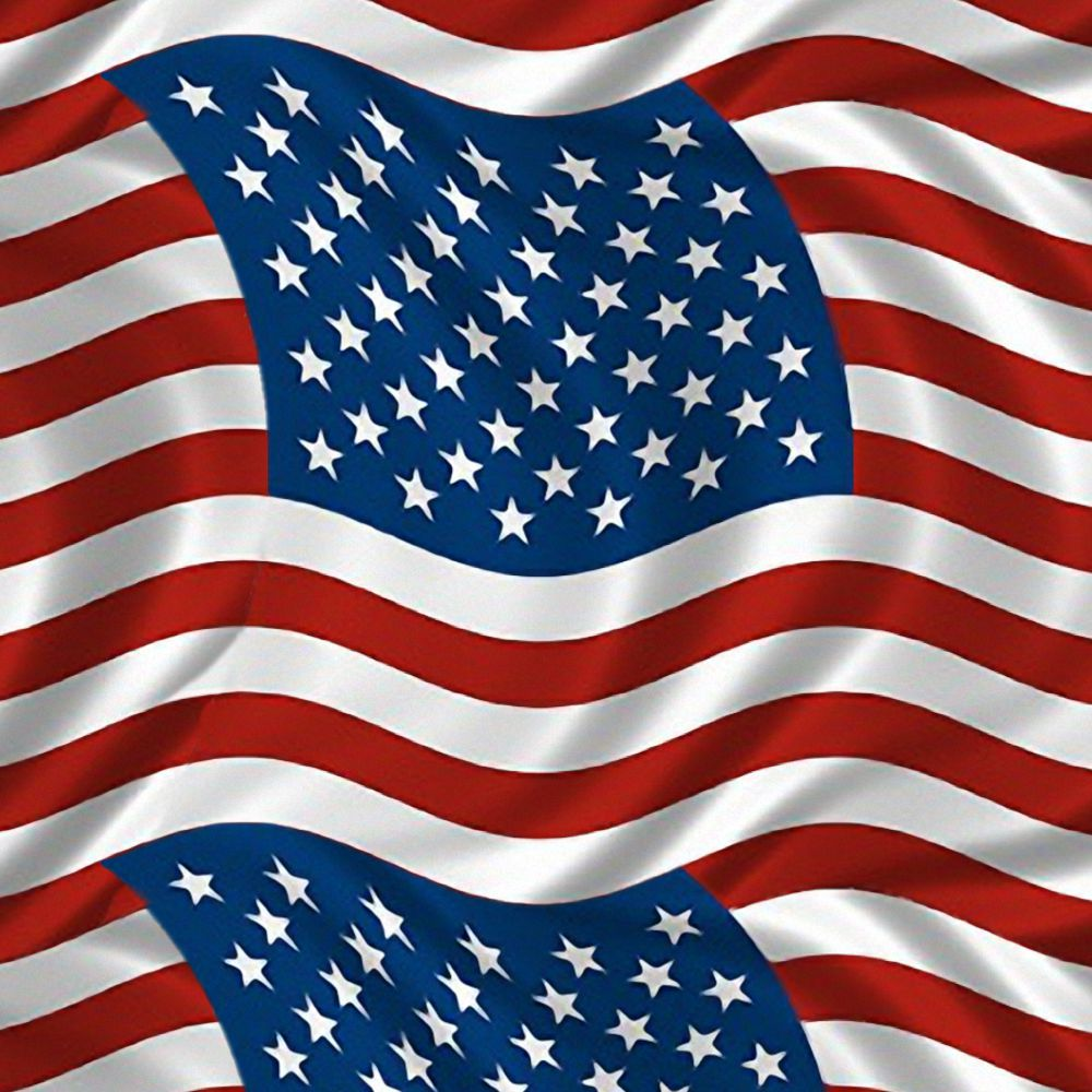 US Flag Waving 32