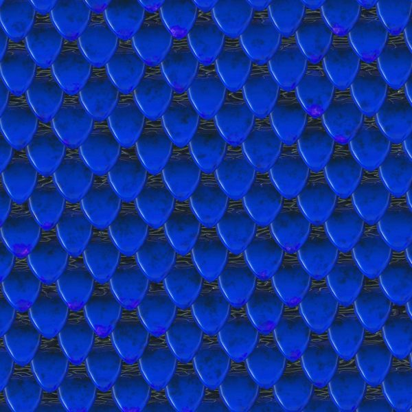 Blue Dragon Scales