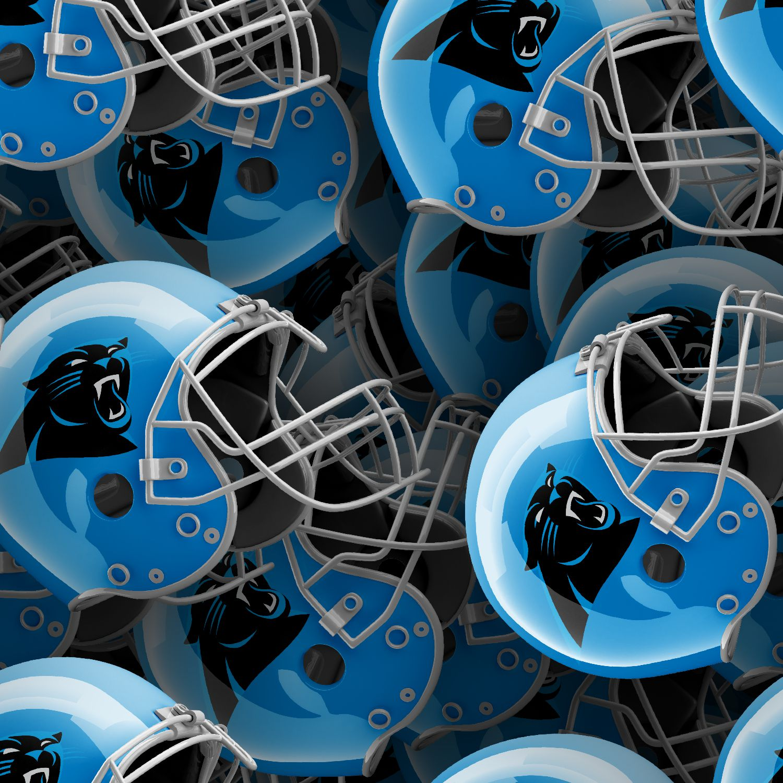 Carolina Panthers Helmets