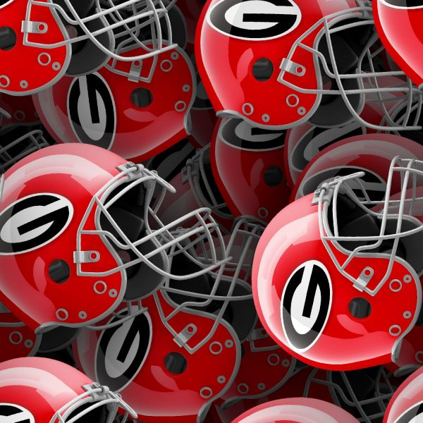 Georgia Bulldogs Helmets