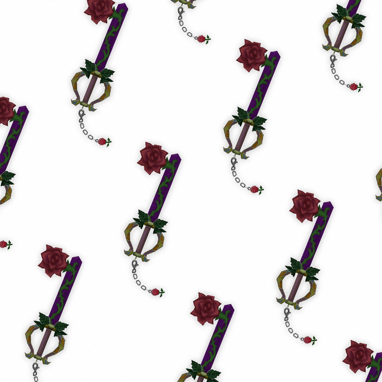 Kingdom Hearts Divine Rose Keyblade 22