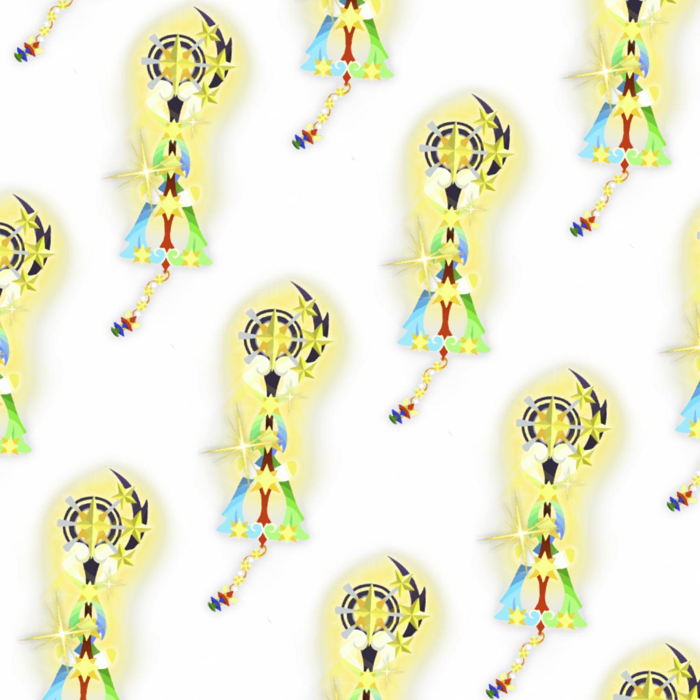 Kingdom Hearts Fairy Stars Keyblade 23
