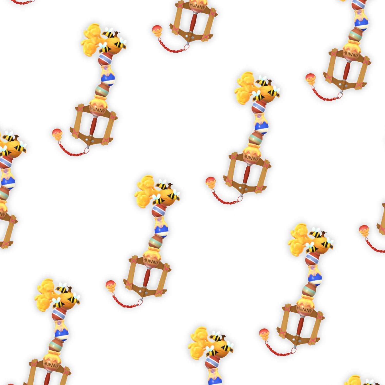 Kingdom Hearts Honey Spout Keyblade